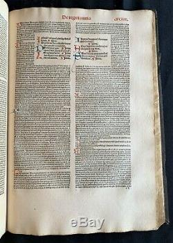 1491 Two Rare Fundamental Incunabula Of Canon Law In A Fine Contemporary Binding