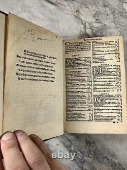 1521 Antique History Book Aurea Rosa Silvestro Mazzolini. RARE