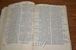 1546 Sefer HaShorashim Venice Bomberg antique judaica Rare Hebrew Signatures