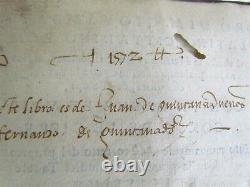 1556 WRITING MANUAL by GIOVANNI BATTISTA PALANTINO antique RARE