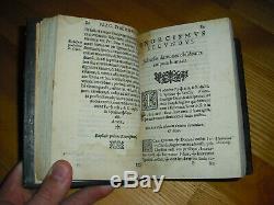1586 Flagellum & Fustis Daemonum Menghi Exorcisms Very Rare