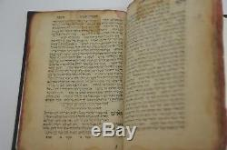 1591 BIBLE VENICE antique judaica book N R HEBRERW NICE RARE WOW