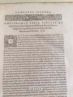 1593 Antique Rare Book Isocratis Orationes Et Epistolae