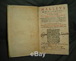 1620 Malleus Maleficarum Magic Witchcraft Extremely Rare