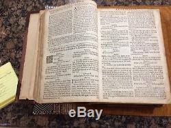 1670 Antique Bible King James Rare Cambridge Edition OT, NT, Prayers