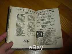 1683 Flagellum & Fustis Daemonum Menghi Exorcisms Rare