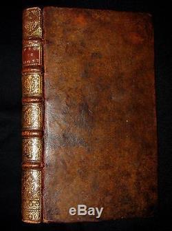 1698 Antique French Book NOSTRADAMUS Propheties RARE Lyon Michel de Nostredame