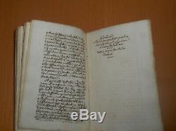 1762 rare antique manuscript book theology Grace catholic church Christianity