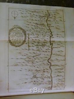 1780 VOYAGE EAST INDIA COMPANY Egypt Red Sea ENGRAVINGS Arabia MAPS Rare ANTIQUE
