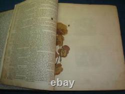 1793 Large ANTIQUE FAMILY BIBLE. Printed by Mark & Charles Kerr. Rare