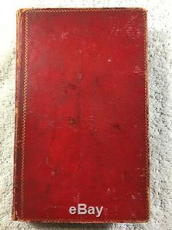 1833 English and Mohawk Indian Parallel Gospel of St. Luke Bible Antique Rare