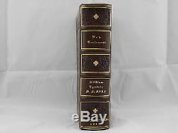 1837 / 1526 TYNDALE NEW TESTAMENT 1st Ed, ANTIQUE RARE LEATHER HOLY BIBLE VGC+