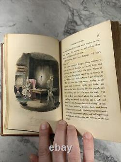 1844 Antique Rare Classic Book A CHRISTMAS CAROL Fifth UK Edition. C. Dickens