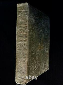 1850 WHALING First Edition 17 Engravings Whales Harpoons Rare Maritime Book