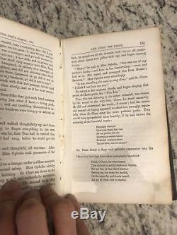 1852 Rare Antique Books Uncle Tom's Cabin First Edition, Early Print