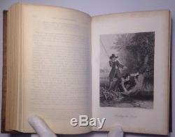 1856 The Complete Angler, Izaak Walton Charles Cotton, Illustrated Antique Rare