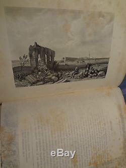 1865 Antique RARE Life Virgin Mary Illustrated Windows Engravings Art Book
