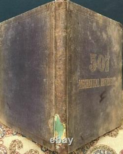 1868Rare 1st ED. 507 MECHANICAL MOVEMENTSAntique BookTOOLSGEARSMACHINERY ++