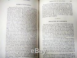 1869 antique Homeopathic Quack Medicine Water Cure 752pg own Fiske upton ma RARE