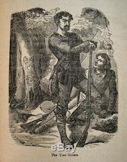 1880 Indian Wars Antique Illustrated Frontier Battles Massacres Ohio River Rare