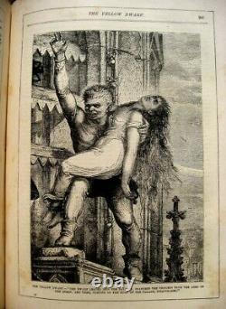 1883 VICTORIAN FAIRY TALES ILLUSTRATED Antique FANTASY Magic WITCH Elf RARE BOOK
