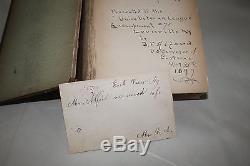 1886 Cassius M. Clay Book RARE Richmond, Kentucky White Hall History B. F. Alford