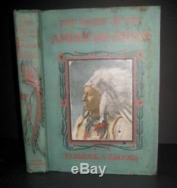 1887 RARE ANTIQUE HISTORY AMERICAN INDIAN Tribes WAR Massacres SOLD @ $3,500