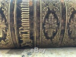 1890 Rare HTF Antique Finnish Vintage Bible Biblia Illustrations Gustave Dore