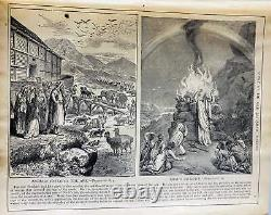 1895 Antique RARE Holy Bible post Civil War. Vintage book published by The South