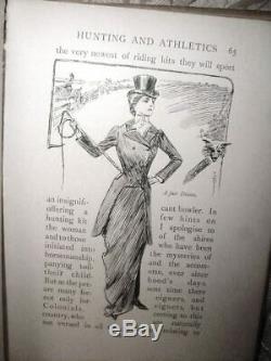 1902 ORIGINAL HC CULT OF CHIFFON Edwardian Fashion Lingerie Boudoir Secrets RARE