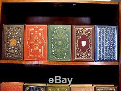 1909 HARVARD CLASSICS Historic Bindings RARE Antique Complete Set FINE Rare Book