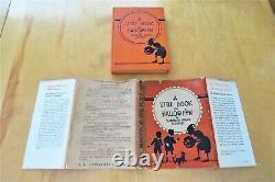 1934 Antique Vintage Halloween Book/Sechrist/1934/RARE
