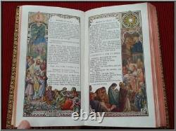 (1936) RARE Missal Boxed ILLUSTRATED ENGRAVINGS Christian Bible Catholic Antique