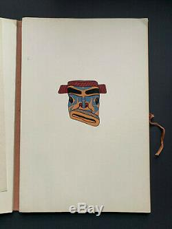1941. Masks & Figures of the North Pacific Coast Indians. RARE, WPA. 1 of 250