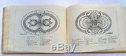 1956 USSR Soviet Russia FLOWER DESIGN Illustrated Manual Album Book RARE
