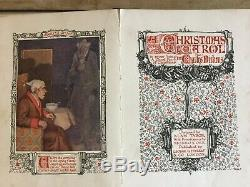 A Christmas Carol Charles Dickens Antique Book By Alan Tabor Rare