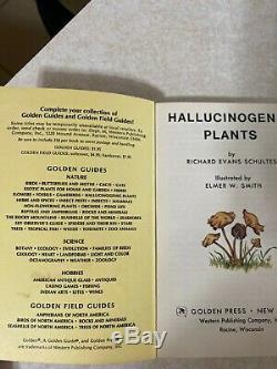 A Gold Guide Hallucinogenic Plants Rare Antique