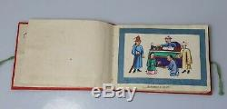 A Rare Qing Dynasty Book Of 12 Pith Paper Paintings Detailing Crime & Punishment