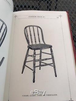 A Super Rare Antique Crocker Chair Co. Sheboygan, Wisconsin Catalog 1887