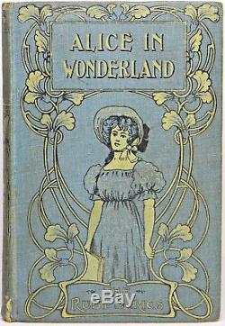 ALICE IN WONDERLAND Antique FIRST EDITION Alice's RARE Disney Adventures CARROLL