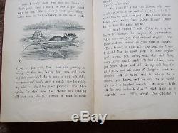 Alice's Adventures In Wonderland Macmillan & Co 1872 Rare Antique Hardback Book