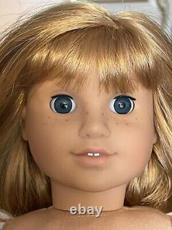American Girl NELLIE O'Malley PLEASANT COMPANY 18 Doll RARE RETIRED BOX nude