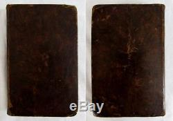 Antique 1786 CHEMICAL ESSAYS Alchemy WATSON Chemistry SCIENCE Leather Bound RARE