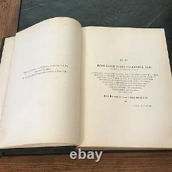Antique 1846 the Trees of America FIRST EDITION Book RARE