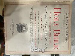 Antique 1881 Holy Bible References Edition! (rare)