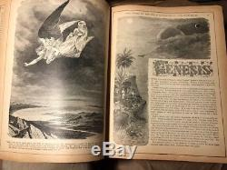 Antique 1891 The Pronouncing Ed. FAMILY HOLY BIBLE Very Rare Heavy Book, 5 Thick