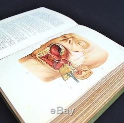 Antique 19th Century German Rare Surgeons Operation Medical Book Curio Macabre