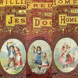 Antique American Tract Society Book Set of 5 in Box Mini RARE SUPERB CONDITION