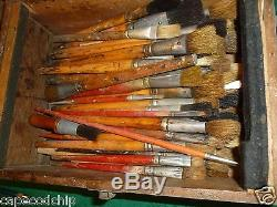 Antique Art Supplies & Rare Books Oils Pastels Watercolors High-end Restorations