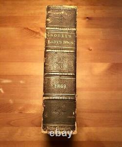 Antique Collectors HC Godey's Lady's Book Vol 78 Jan-June 1869 (558 Pages) RARE